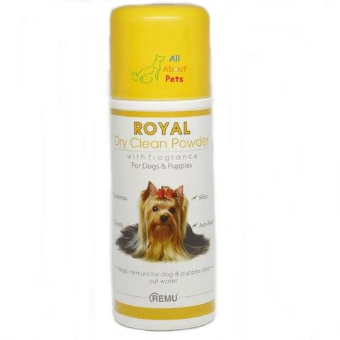 Remu Royal Dry Clean Powder For Dogs available online at allaboutpets.pk in pakistan.