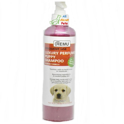 Remu Shampoo Puppy Luxury Perfumed 320ml available online at allaboutpets.pk in pakistan.