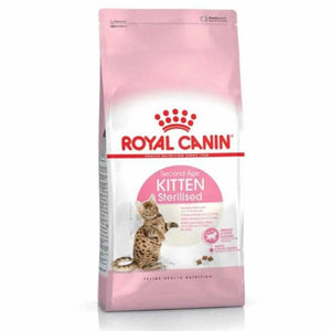 Royal Canin Kitten Sterilised 400g and 2kg available online in pakistan at allaboutpets.pk