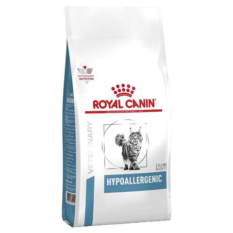Royal Canin Hypoallergenic Cat Dry Food 2.5kg available in Pakistan at allaboutpets.pk