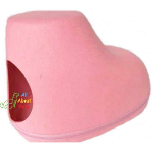 Shoes Shape Felt Material Cat House With Bedding available online at allaboutpets.pk in pakistan.