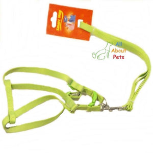 Smart way Reflective nylon pet Harness & Lead Set 12mm available at allaboutpets.pk in pakistan.