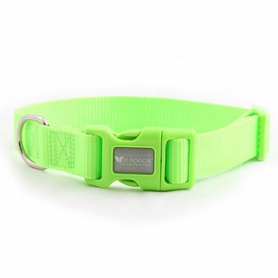 Smart Way nylon Adjustable Puppy Collar Green available at allaboutpets.pk in pakistan.