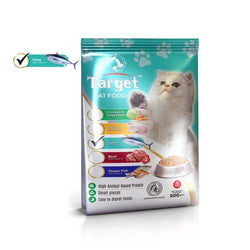target cat food tuna flavor 500g, persian cat food available at allboutpets.pk in pakistan