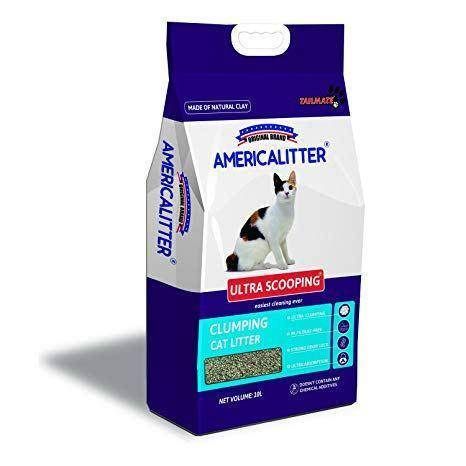 America Litter Ultra Scooping Clumping Litter 10L available at allaboutpets.pk in pakistan