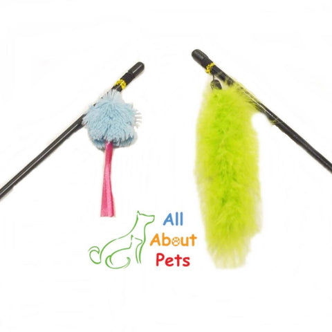 Vitakraft Cat Playing Stick, cat teaser toys available online at allaboutpets.pk in pakistan.