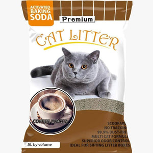 Kind Pet Cat Litter Coffee Scented 5L dust free & easy clumping available at allaoutpets.pk in pakistan.