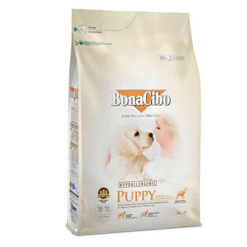 Bonacibo Puppy Food 3 kg available at allaboutpets.pk