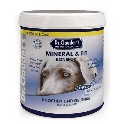 Dr Clauder's Mineral & Fit Bonefort 500g, dog supplement available at allaboutpets.pk in pakistan.