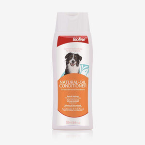 Bioline Natural Oil Conditioner 250ml available at allaboutpets.pk