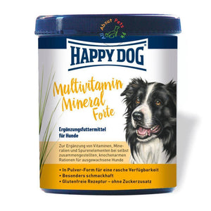 Happy Dog Multivitamin Mineral, dog supplement available in Pakistan at allaboutpets.pk