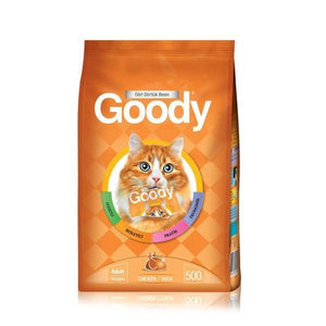Goody Cat Food In Chicken 500g and 2.5kg available in Pakistan at allaboutpets.pk