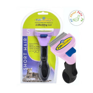 "Furminator Deshedding Tool Cats Small Short Hair 1.75"" edge available at allaboutpets.pk in Pakistan"