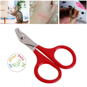 Pet Nail Clippers for Small Dogs and Cats. Claw Clippers, Pet Nail Scissors 8 cm, Nail Cutter Grooming Dog and Cat Accessories available at allaboutpets.pk in Pakistan