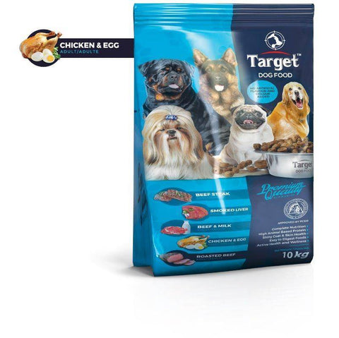 target dog food chicken & egg 10kg, available at allboutpets.pk in pakistan