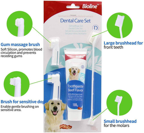 Bioline Dental Care Set available at allaboutpets.pk