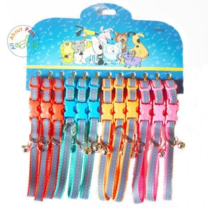 Pet Reflective Printed Collars Assorted available at allaboutpets.pk in Pakistan