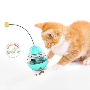 Cat Toy Tumbler Slow Feeding