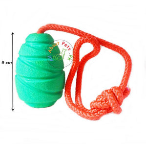 Dog Kong Chew Toy Hard Rubber Pine Cone Shape available at allaboutpets.pk in Pakistan