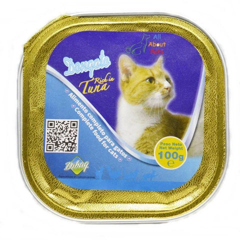Dibaq Dongato Cat  Jelly Tuna 100 Grams, cat wet food, cat jelly food available at allaboutpets.pk in pakistan.