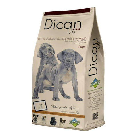 Dibaq Dican Up Puppy, dog dry food, puppy food 3kg, 14kg available at allaboutpets.pk in pakistan.