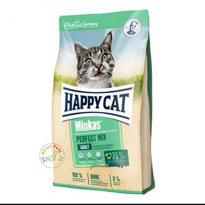 Happy Cat Cat Food Minkas Mix 1.5kg and 10kg available at allaboutpets.pk in Pakistan