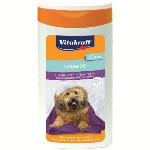 Vitakraft Dog Shampoo Tea Tree Oil 250 ml available at allaboutpets.pk in pakistan.