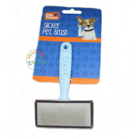 Pet Touch Slicker Brush Grooming Brush available in Pakistan at allaboutpets.pk