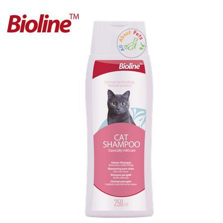 Image of Bioline Cat Shampoo 250ml available in Pakistan at allaboutpets.pk