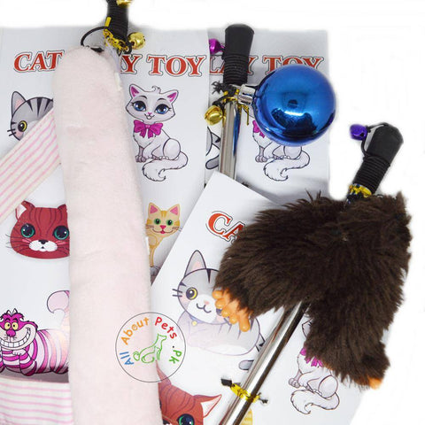Image of Cat Teaser Toys assorted available in Pakistan at allaboutpets.pk
