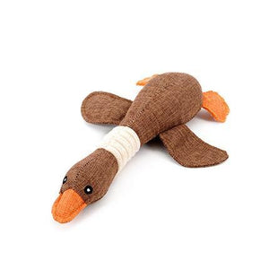 Keep your dog's hunting skills up in the off-season, HOOPET Pet Dog Dayan Sound Toys Solid Resistance To Bite Playable High Quality Blue Gray Brown Funny Pet Toy available at allaboutpets.pk in pakistan.