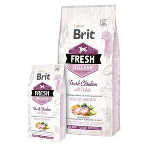 Brit Fresh Puppy food Chicken with Potato available at allaboutpets.pk in pakistan.