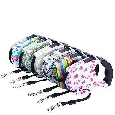 Image of Retractable Dog Leash 16.5ft available at allaboutpets.pk in pakistan.