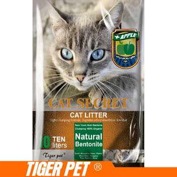 Image of Tiger Pet Cat Secret Cat Litter Multi Scented 10L available at allaboutpets.pk in pakistan.