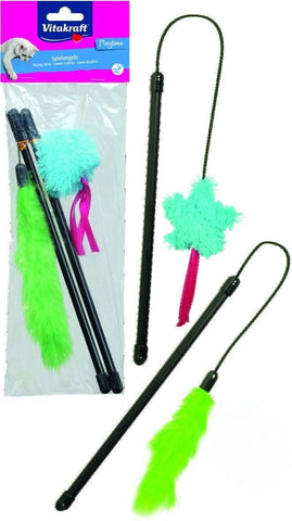 Vitakraft Playing Stick For Cats, cat teaser toys available at allaboutpets.pk in pakistan.