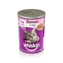 Whiskas Salmon in Jelly 390g, cat wet food available at allaboutpets.pk in pakistan.