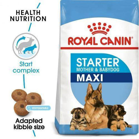 Royal Canin Maxi Starter Mother & Baby dog available at allaboutpets.pk in pakistan.