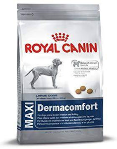 Royal Canin Maxi Dermacomfort Dry Dog Food 14 KG available at allaboutpets.pk in pakistan.