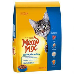 Meow Mix Sea Food Medley Cat Food available at allaboutpets.pk in pakistan.