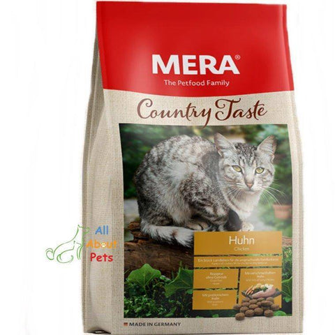 MERA Country Taste Chicken Cat Food available at allaboutpets.pk in pakistan.