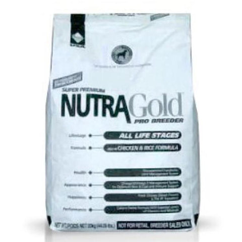NutraGold Pro Breeder Chicken & Rice Formula 20kg available at allaboutpets.pk in pakistan.
