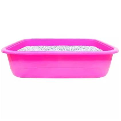 PawComfort Cat Litter Tray Large, pink cat litter tray available at allaboutpet.pk in pakistan.