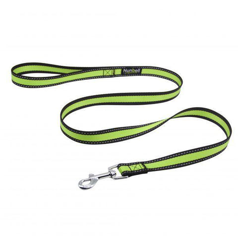 Nunbell Reflective Leashes for Dogs, nylon dog leashes green color available at allaboutpets.pk in pakistan.