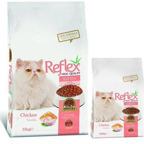 Reflex Kitten Food Chicken available at allaboutpets.pk in pakistan.