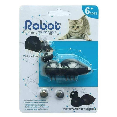 Robot Ant Toy For Cats, keeps your cat engaged and happy available at allaboutpets.pk in pakistan.