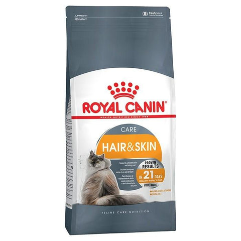 Royal Canin Hair & Skin Care  dry Cat Food available at allaboutpets.pk in pakistan.