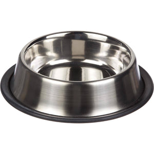 Steel silver feeding bowls for cats & dogs available at allaboutpets.pk in Pakistan