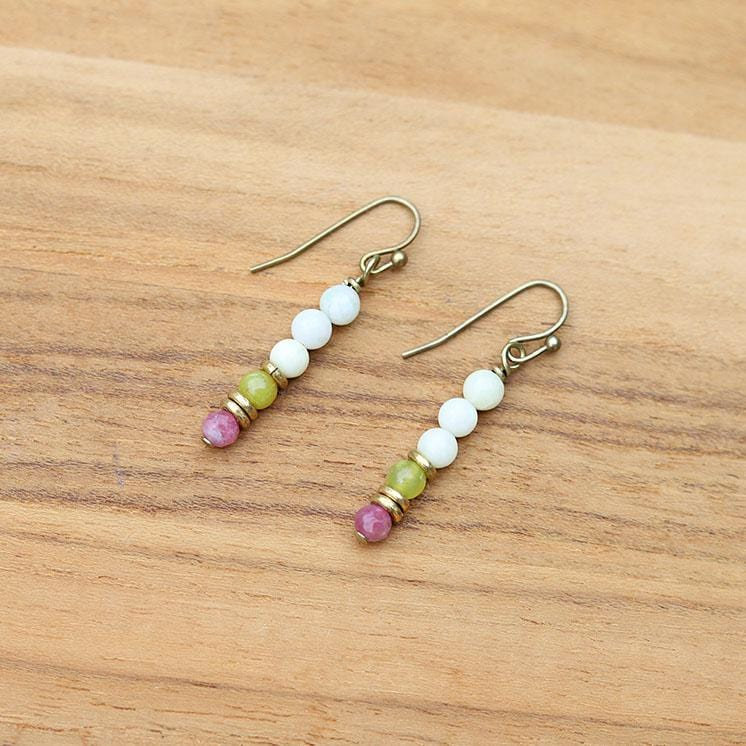 Small Jade Earrings