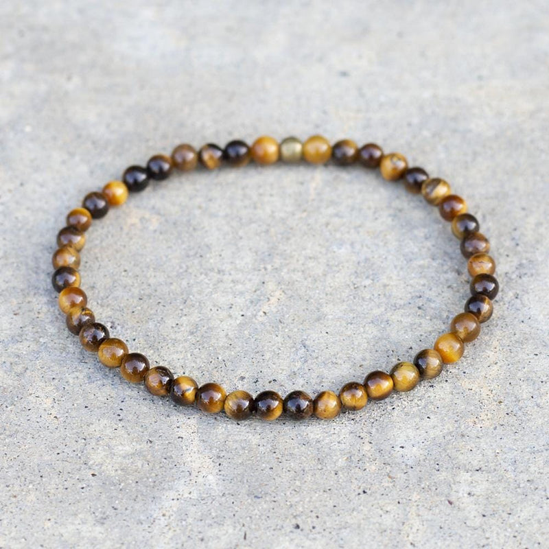 """Prosperity"" Tiger's Eye Delicate Bracelet"