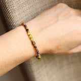 Tourmaline & Jade Bracelet for wrist